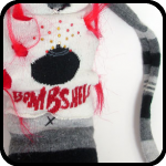 Bombshell, a Sock Creature - An Item in bARTer Sauce