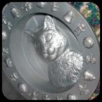 Gumball Machine Shaped Kitty Cat Feeder