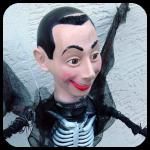 Pee Wee Herman Skeleton