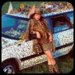 Kelly Lyles Art Car
